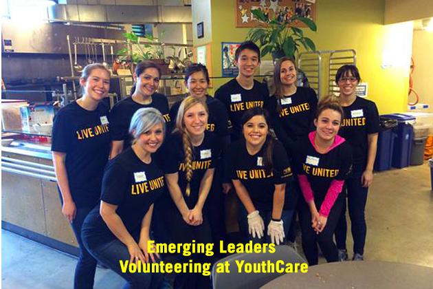 Emerging Leaders Volunteering at YouthCare