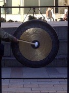 Gong for homeless in seattle